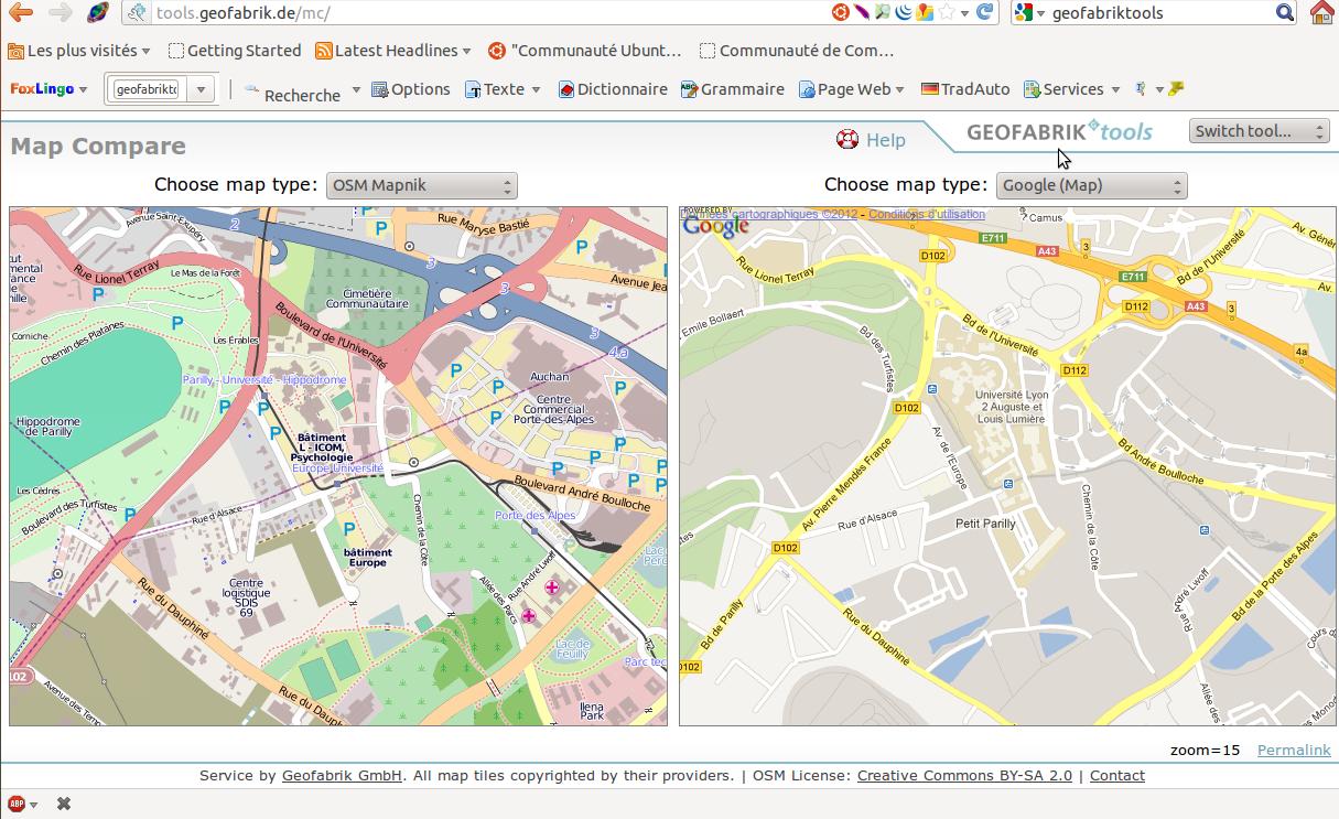 OpenStreetMap, une carte libre et fiable?