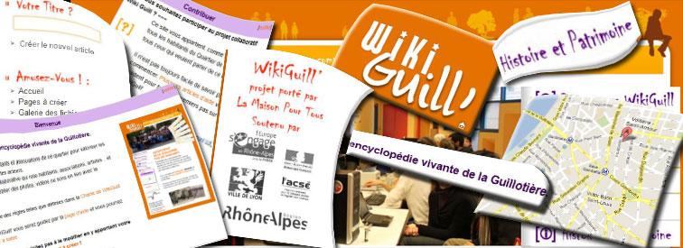 WIKI Guill, le wiki du quartier de la guillotiere (interview)