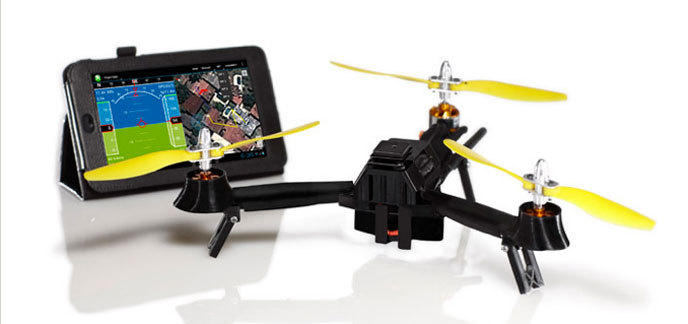 "photo du drone ""Pocket drone"""