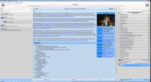 Amarok utilise de nombreux services web comme Wikipedia.