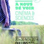 Affiche du festival A nous de voir 2014