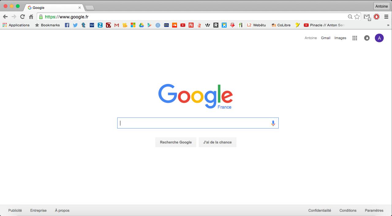 Chromium la version libre de google chrome colibre for Bloquer les fenetre publicitaire google chrome