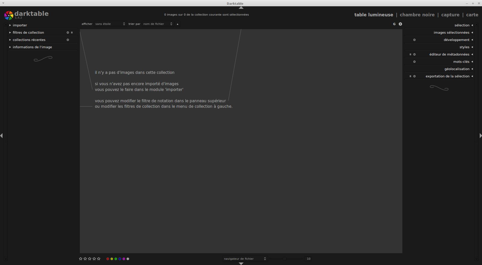 Bien débuter avec Darktable : logiciel de traitement photo