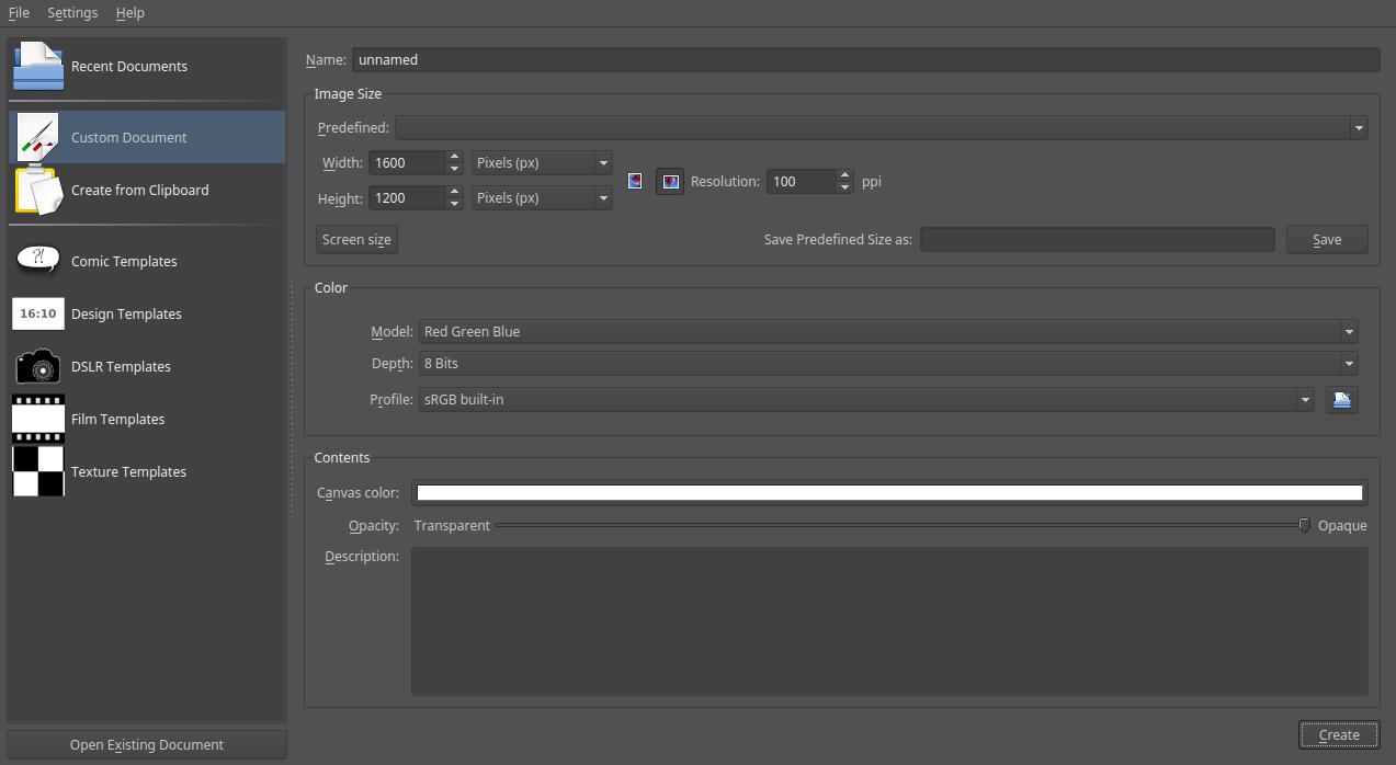 Bien débuter avec KRITA: logiciel de peinture numérique
