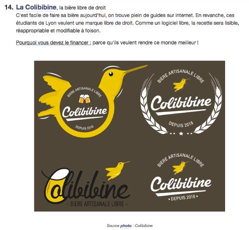 La ColiBibine pour un monde meilleur