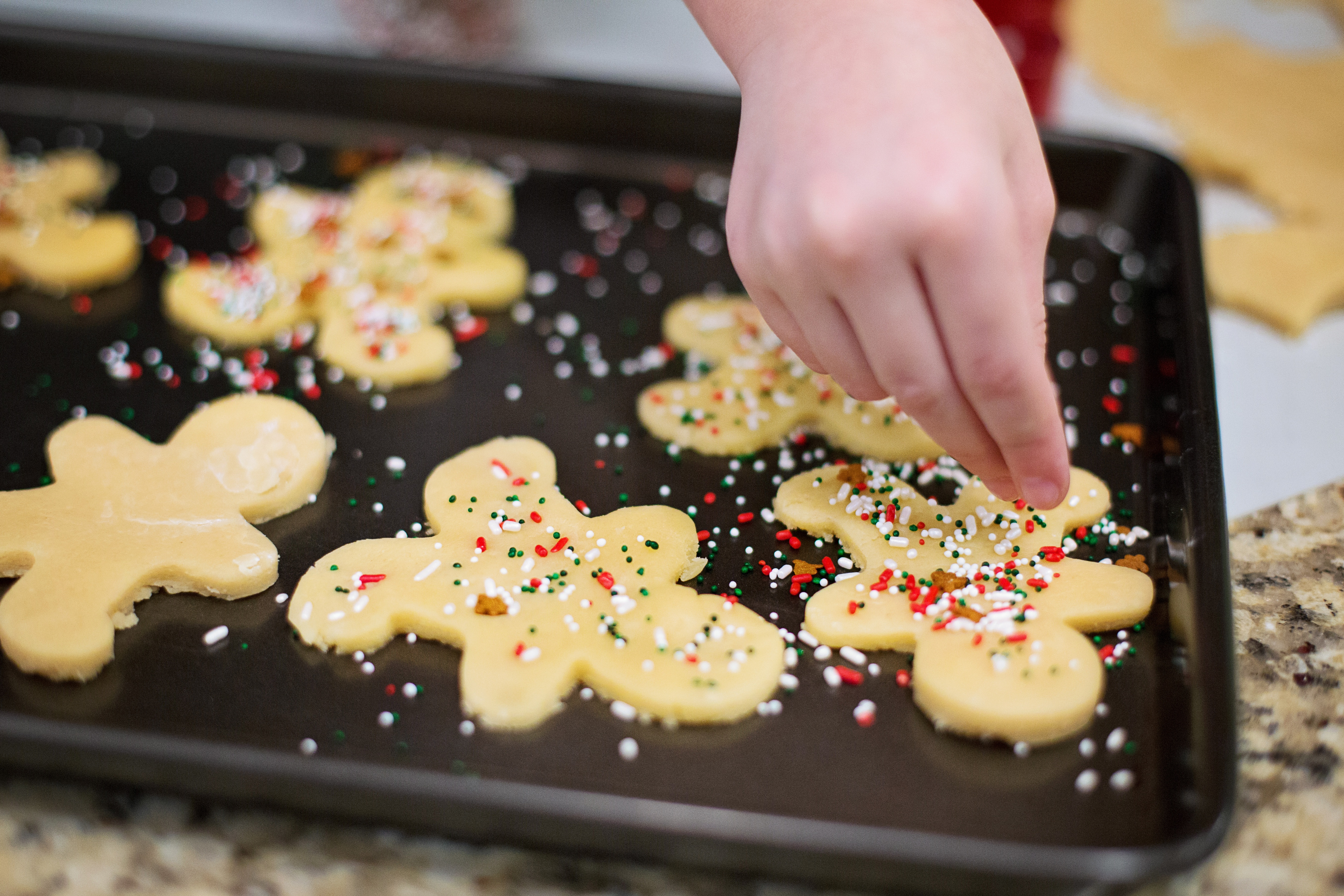 Bien fêter Noël : La recette libre des petits sablés nature