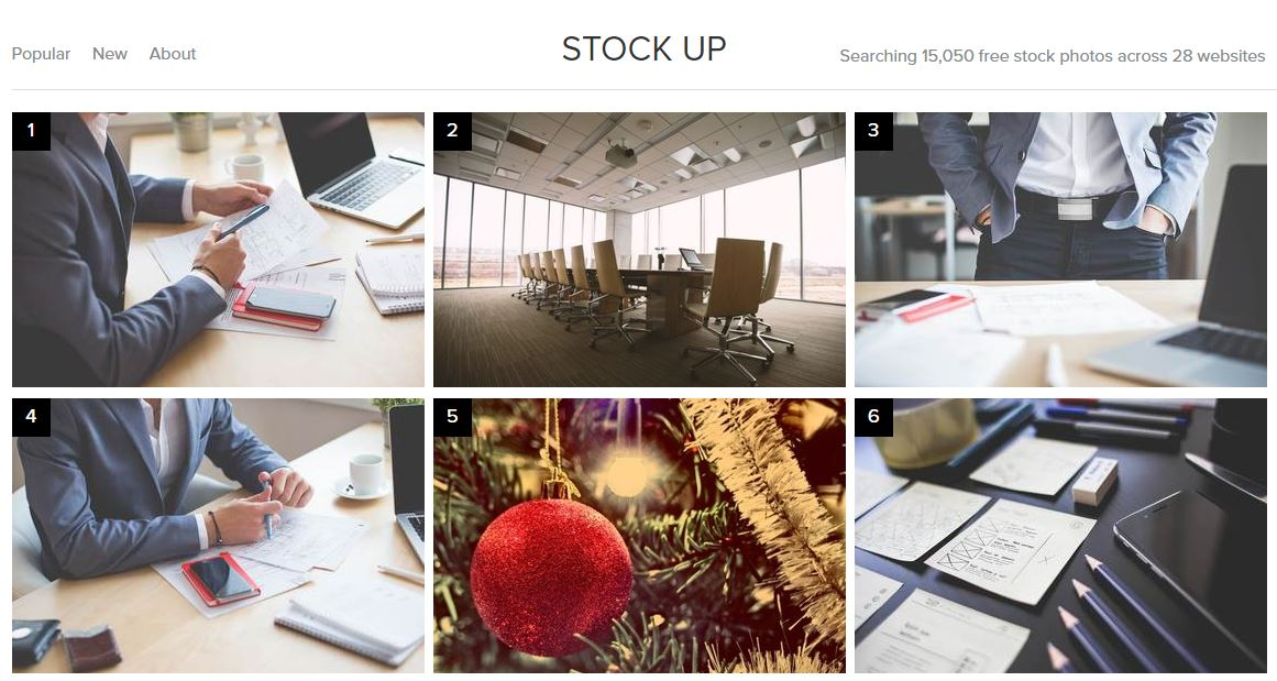 Stock up : LE site de photos libres de droit HD