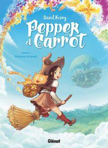 Pepper et Carrot : tome 1 - Glénat 2016