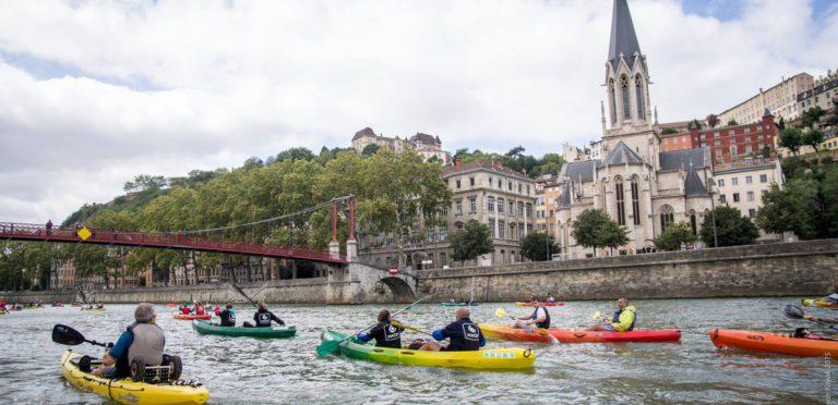 Sur les fleuves Lyonnais