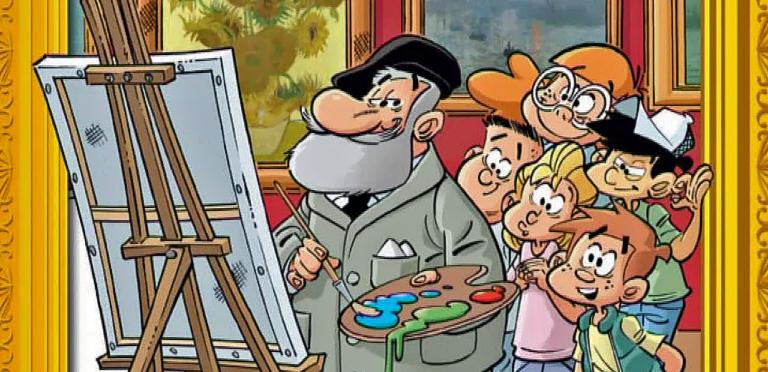 Découvrir l'art sans s'emmêler les pinceaux avec la BD « Les Bozarts »