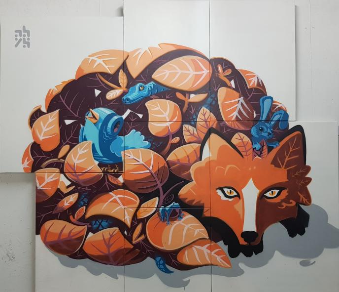 """Firefox"" stylisé par Aloys2Fly"