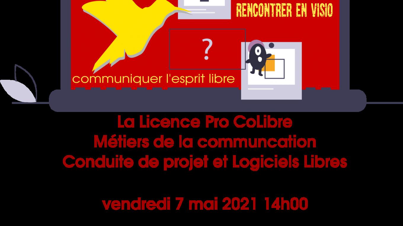 Visio Ouverte Présentation Licence Pro CoLibre
